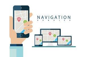Navigation service.