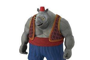 Rhino game character
