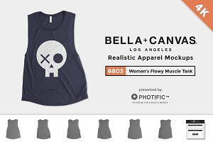 Bella Canvas 8803 Flowy Muscle Tank