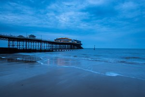 Cloudy Day at Cromer Pier