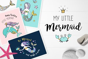 Little Mermaid - under the sea set