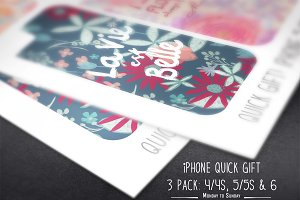 SALE!Quick Gift- iPhone Skin 3 pack!