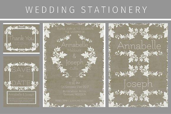 Ivy Wedding Stationery