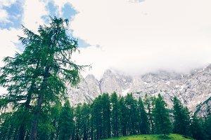 Mountain Landscape, Vrsic, Slovenia