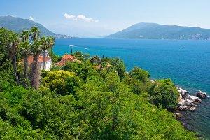 Coast in Herceg Novi, Montenegro