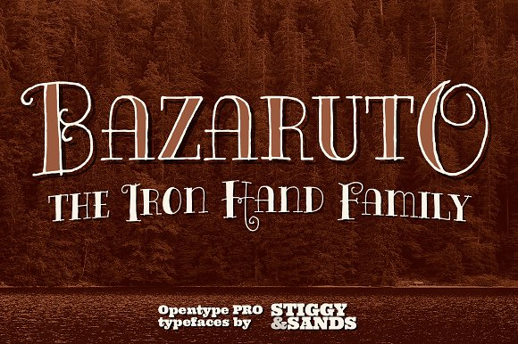 Bazaruto Iron Hand Family