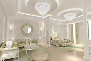 Bedroom in 3Ds Max