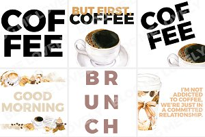 Instagram Quotes - Coffee Collection