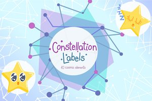 Constellation Labels + BONUS