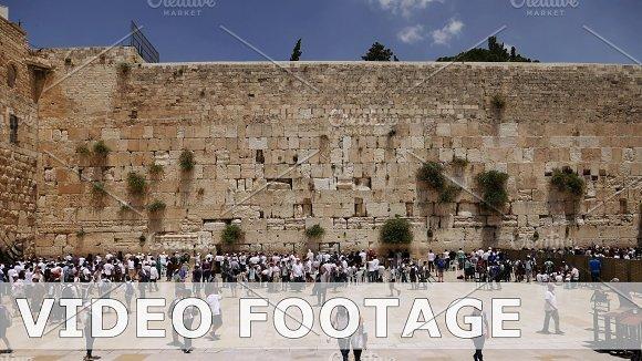 Western Wall or Wailing Wall or Kotel in Jerusalem