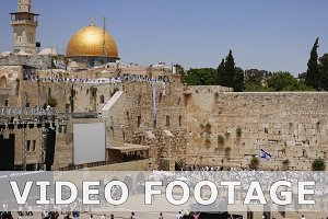 Western Wall or Wailing Wall or Kotel in Jerusalem