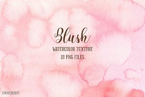Watercolor Texture Blush