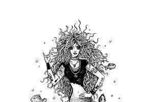 Rocking Mermaid