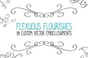 Flexuous Flourishes - Bundle of 30