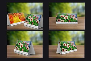 Desk Calendars Mock-Up Pack -33%sale