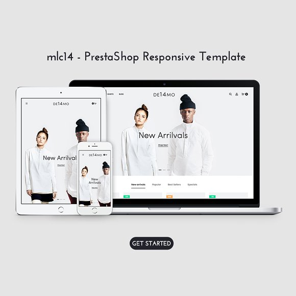 Unique Modern Prestashop Theme