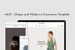 Unique & Modern Prestashop theme