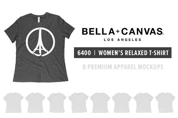 Download Bella Canvas 6400 Women's T-Shirt