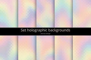 Set holographic background