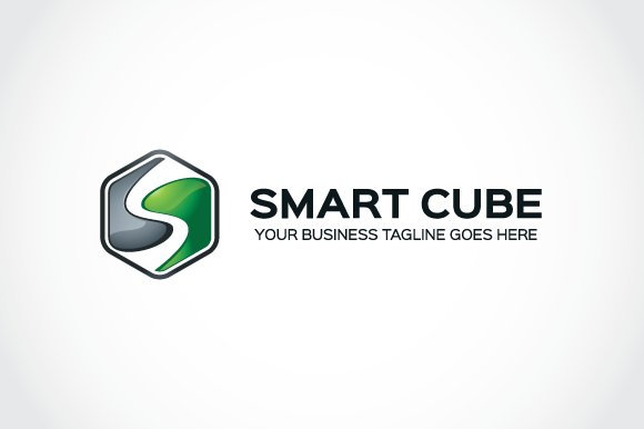 Smart cube Logo Template in Logo Templates - product preview 1