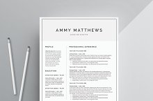 Word Resume & Cover Letter Template by  in Cover Letters