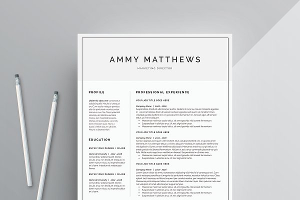 resume templates word resume - Design Resume Templates