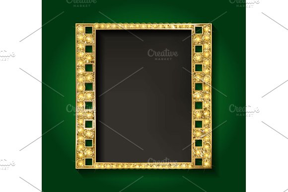 Gold film on the curtain backdrop. in Graphics - product preview 1