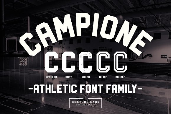 Campione Font Family