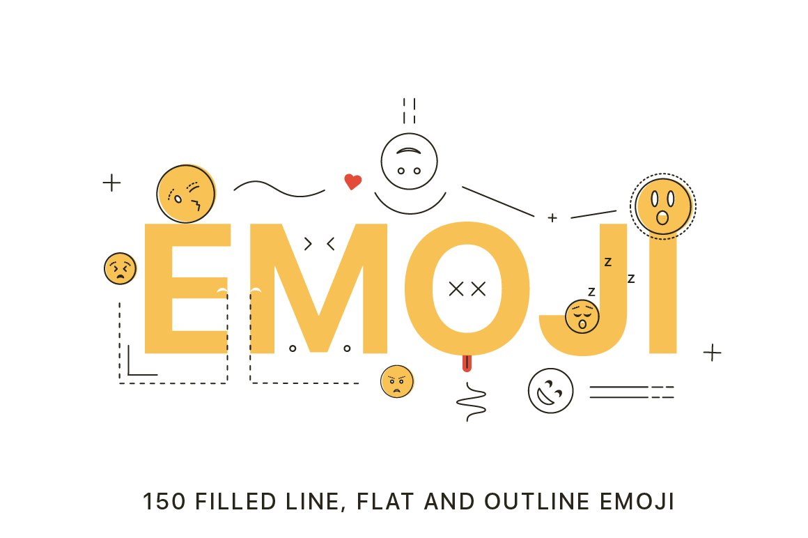 Best Emoji Fonts & Icon Sets for Playful Designs ~ Creative
