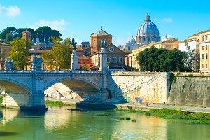 Rome postcard, Italy