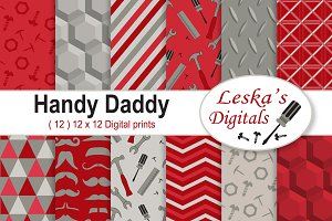 Father's Day Scrapbooking - Red