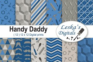 Father's Day Scrapbook Paper Pack