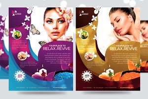 Deluxe Spa Promotion Flyer V1