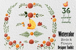 Birds&Flowers designer toolkit