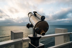 Telescope point to Seascape
