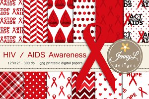 AIDS / HIV Awareness Digital Papers