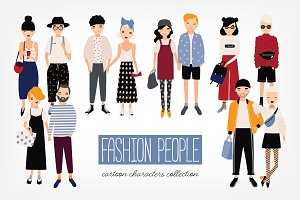 Stylish young people bundle