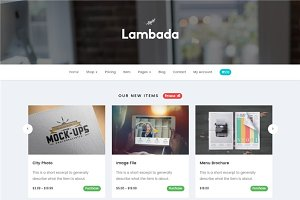Lambada - HTML Template Digital Shop