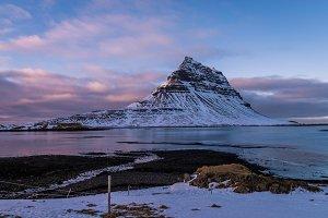 Icelandic landmark, Kirkjufell
