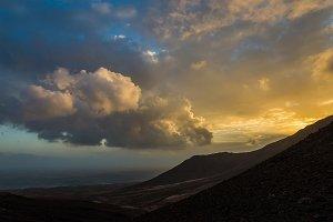 Volcanic apocalyptic view