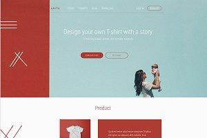 Anita Product Landing Page
