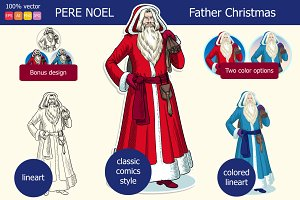 Pere Noel - Father Christmas