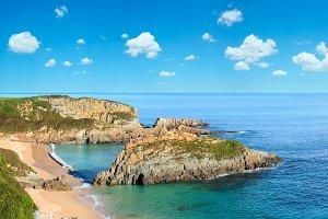 Atlantic summer coast.