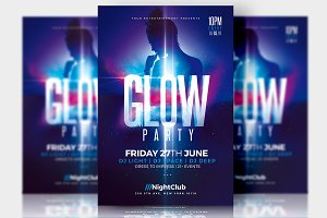 Glow Party - Flyer Template