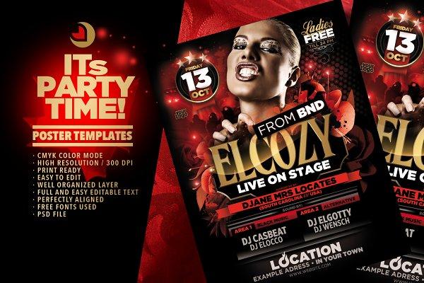 Elcozy Flyer Template
