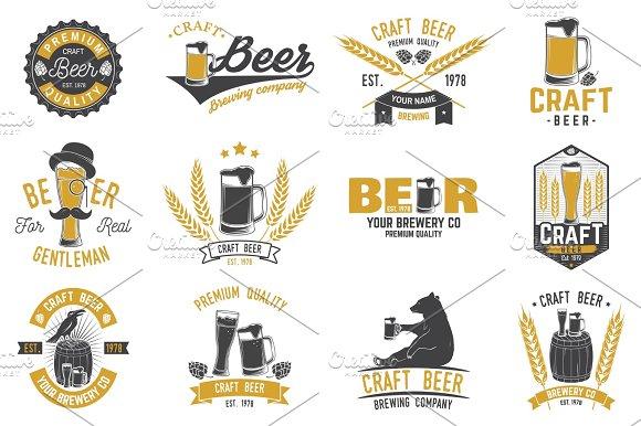 Vintage Design For Bar Pub And Restaurant Business