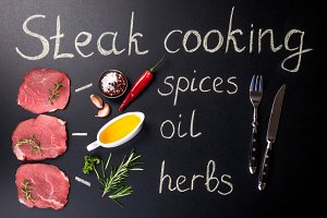 Steak cooking