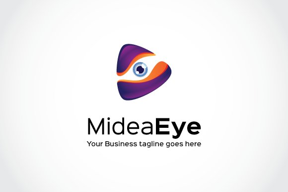 media eye logo template logo templates creative market