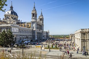 Almudena Cathedral. Madrid