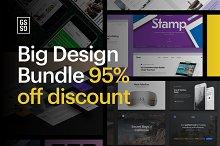 95% OFF - Big Design Bundle
